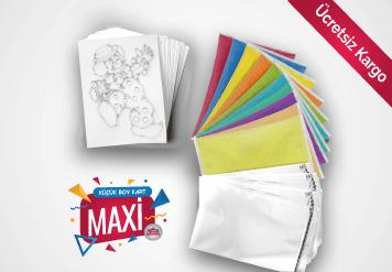 Maxi Kum Boyama Seti - Küçük Kart
