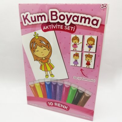Lola Prenses Kum Boyama Seti